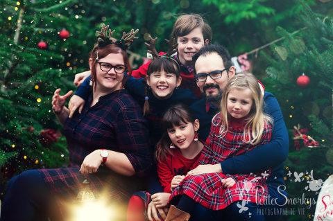 NOEL chez les MARTIN - Jessica & Pierre et leurs 4 enfants 12/2019 @PetiteSnorkys Photograhy